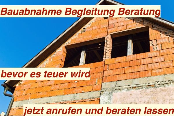 Bauabnahme Berlin - Baubegleitung Bau abnehmen