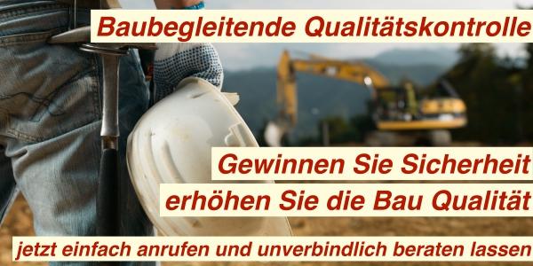 Baubegleitende Qualitätskontrolle Berlin Brandenburg