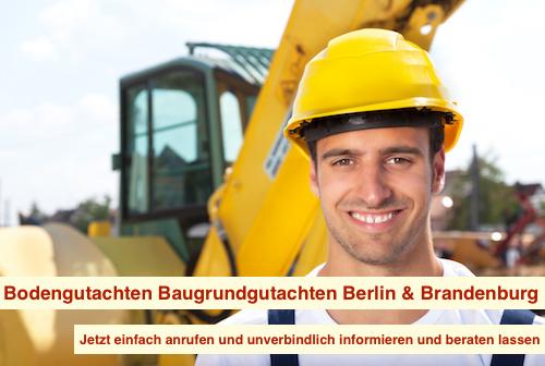 Bodengutachten Berlin - Baugrundgutachten