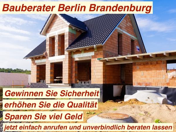 Bauberater Berlin Brandenburg hinzuziehen